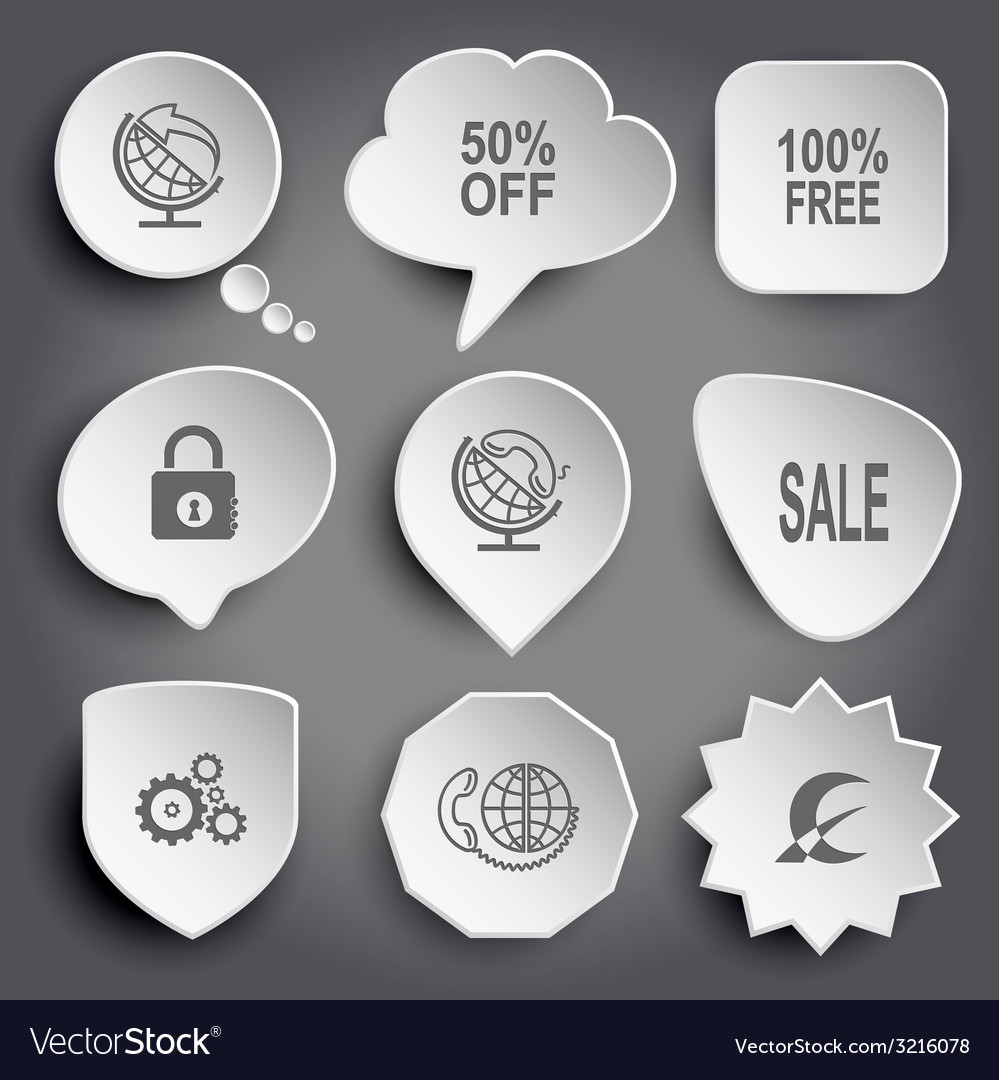 Globe and arrow 50 off 100 free closed lock globe vector | Price: 1 Credit (USD $1)