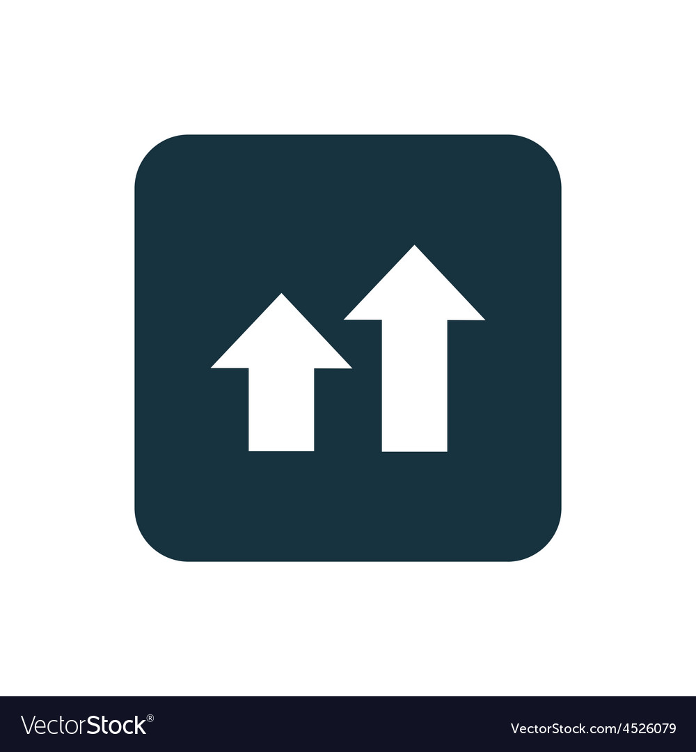 Business diagram chart icon rounded squares button vector | Price: 1 Credit (USD $1)