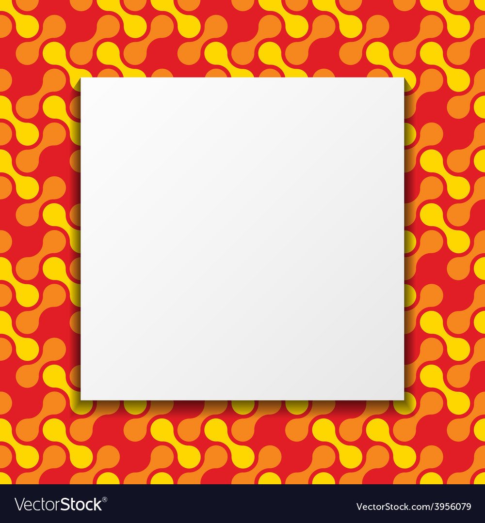 Colorful frame background vector | Price: 1 Credit (USD $1)