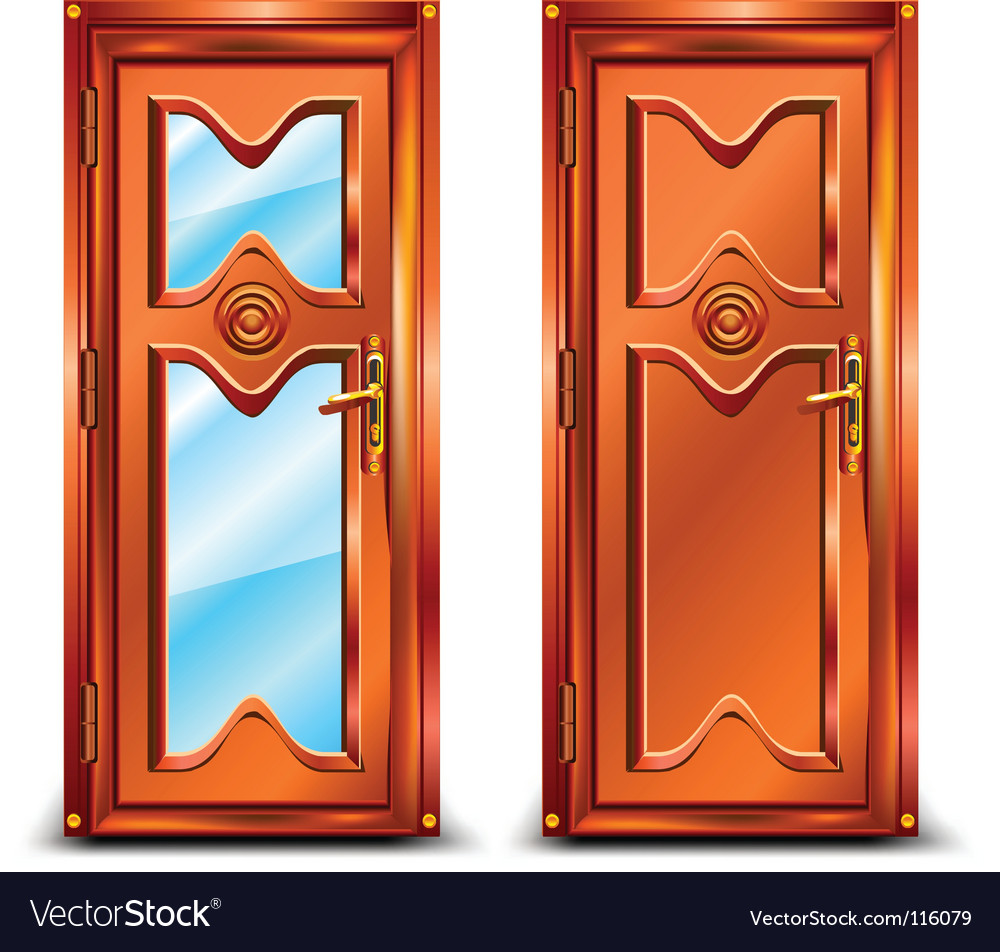 Door closed vector | Price: 1 Credit (USD $1)