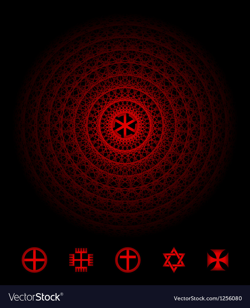 Sacred symbol vector | Price: 1 Credit (USD $1)