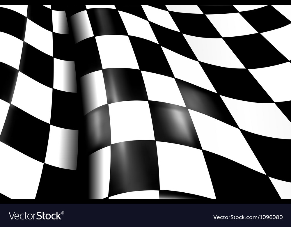 Sports checkered background vector | Price: 1 Credit (USD $1)