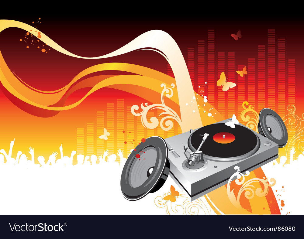 Summer party night vector | Price: 1 Credit (USD $1)