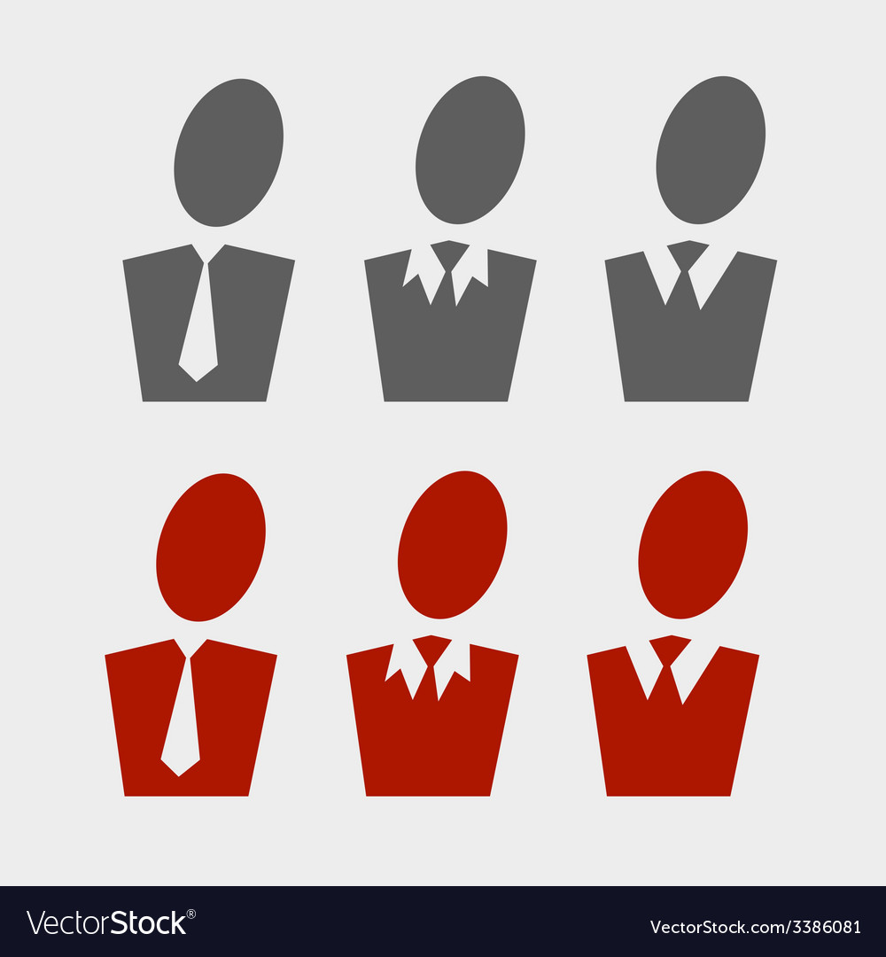 Business pictogram set vector | Price: 1 Credit (USD $1)
