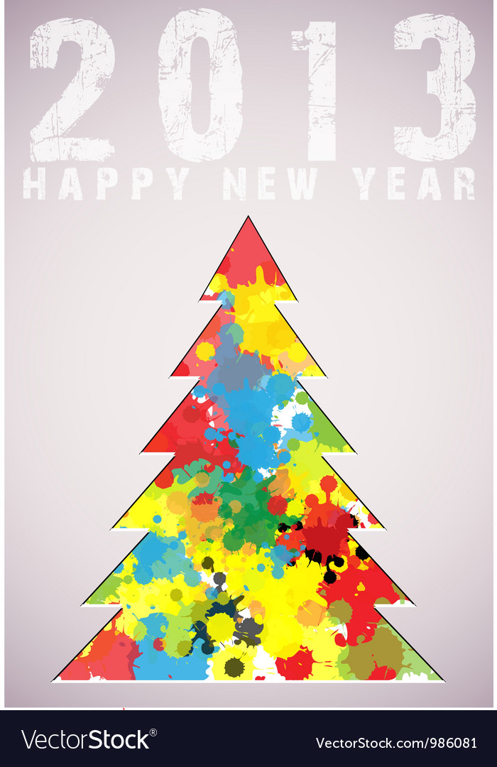 Christmas tree applique background vector | Price: 1 Credit (USD $1)