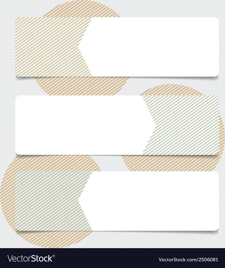 Cute note papers ready for your message vector | Price: 1 Credit (USD $1)