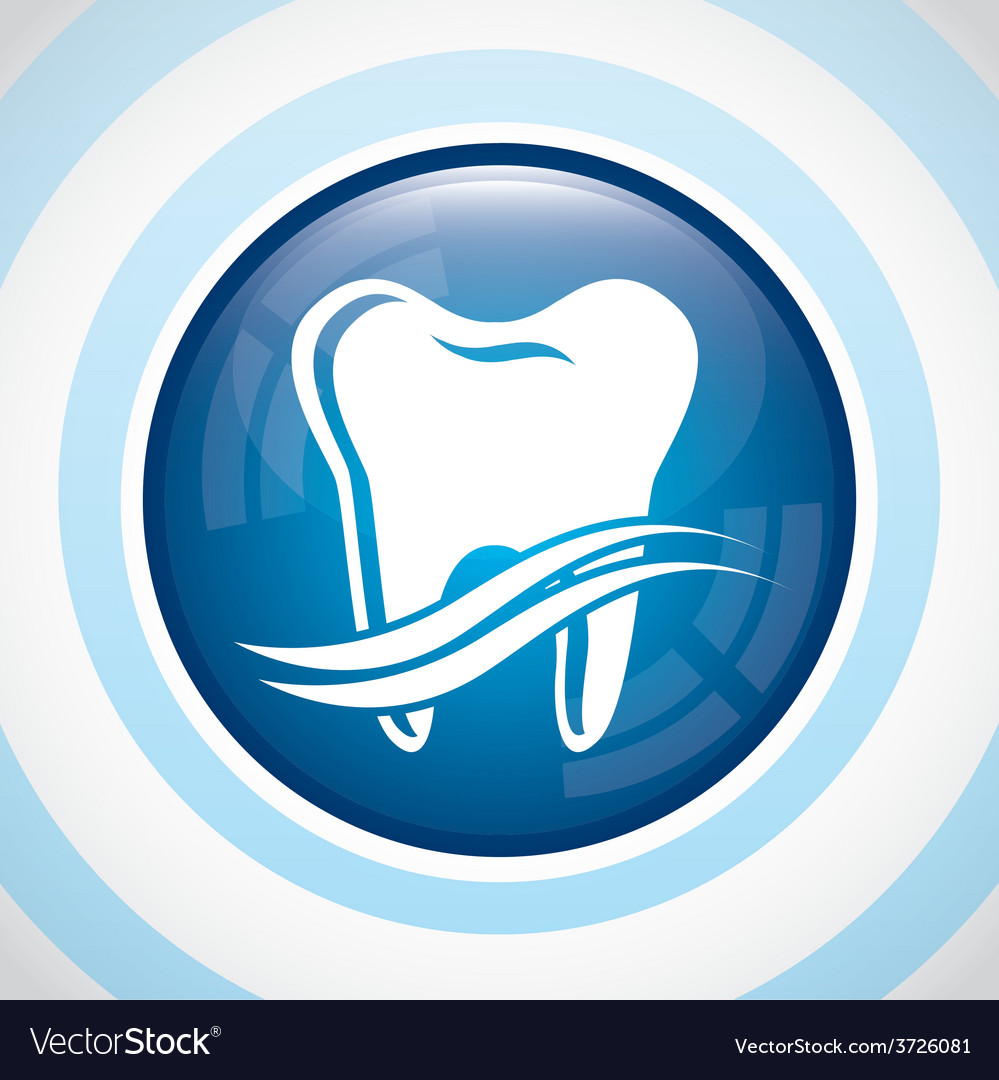 Dental care design vector | Price: 1 Credit (USD $1)