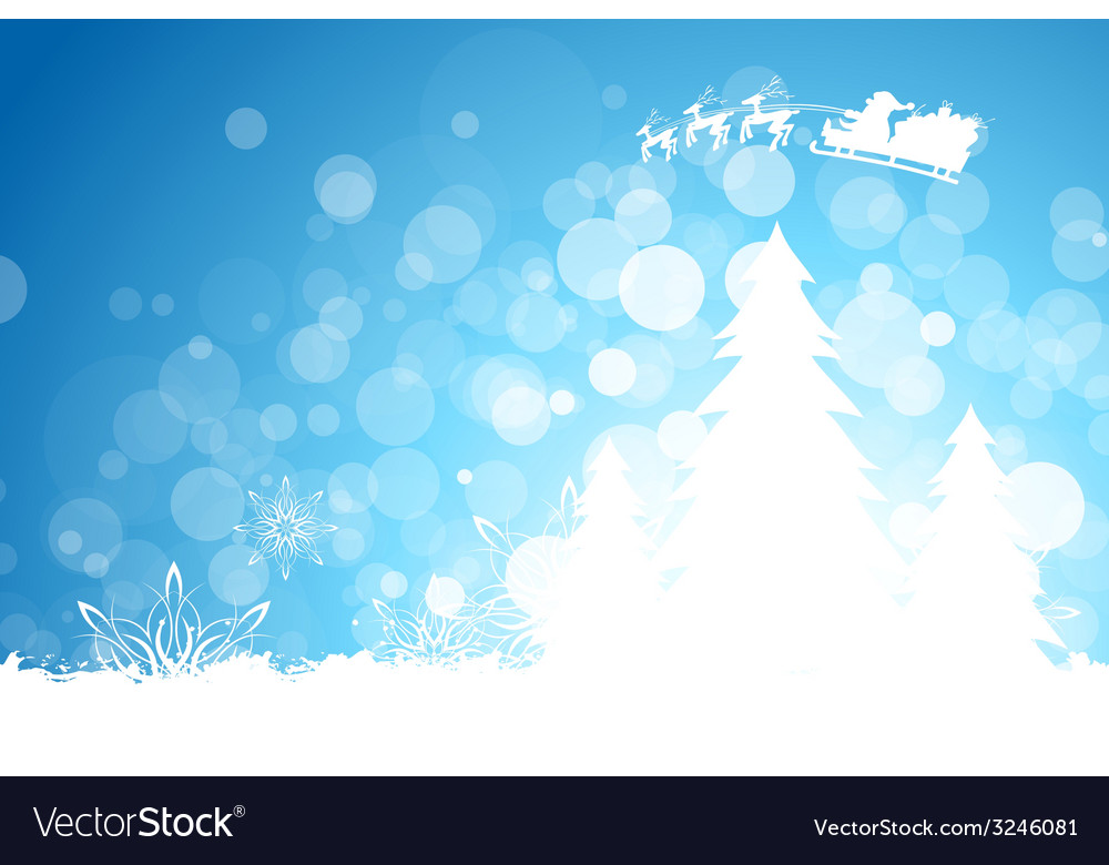 Grungy christmas greeting card vector | Price: 1 Credit (USD $1)