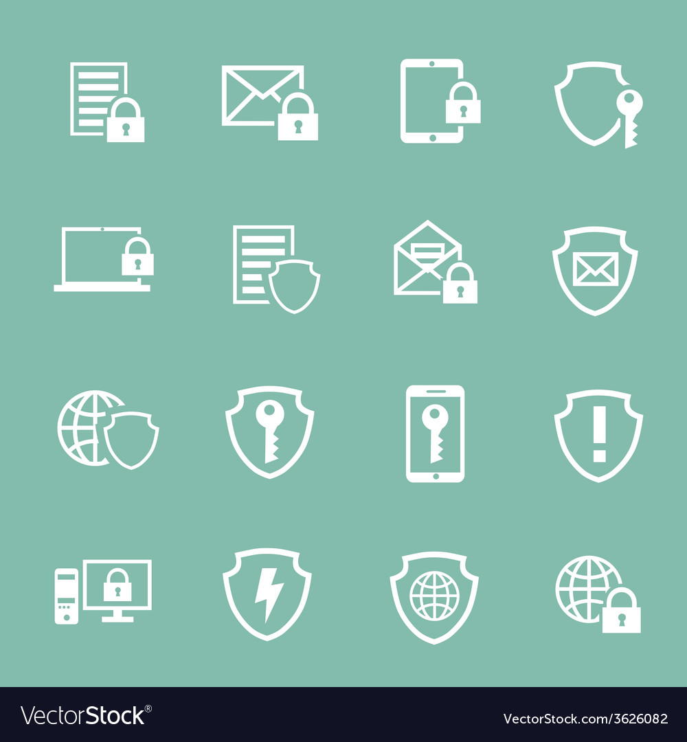 Protection information technology security vector | Price: 1 Credit (USD $1)