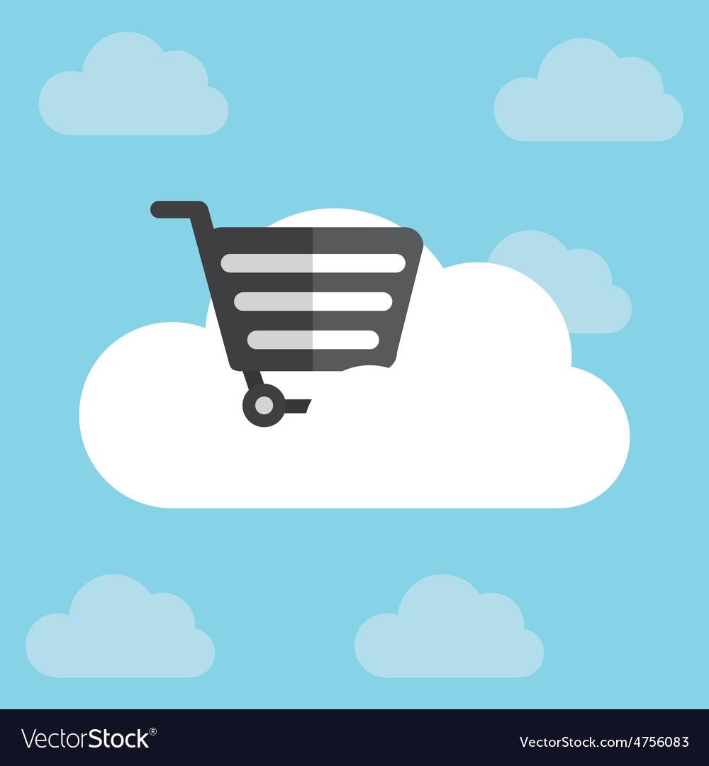 Cloud computing vector | Price: 1 Credit (USD $1)