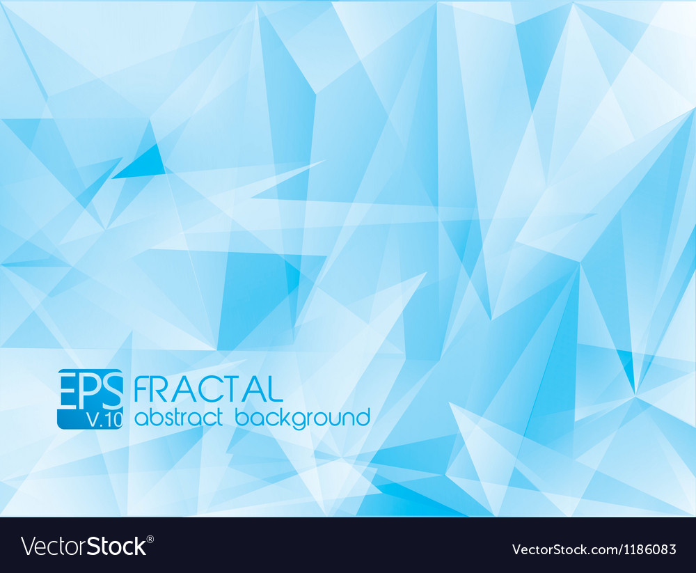 Fractal abstract background vector | Price: 1 Credit (USD $1)