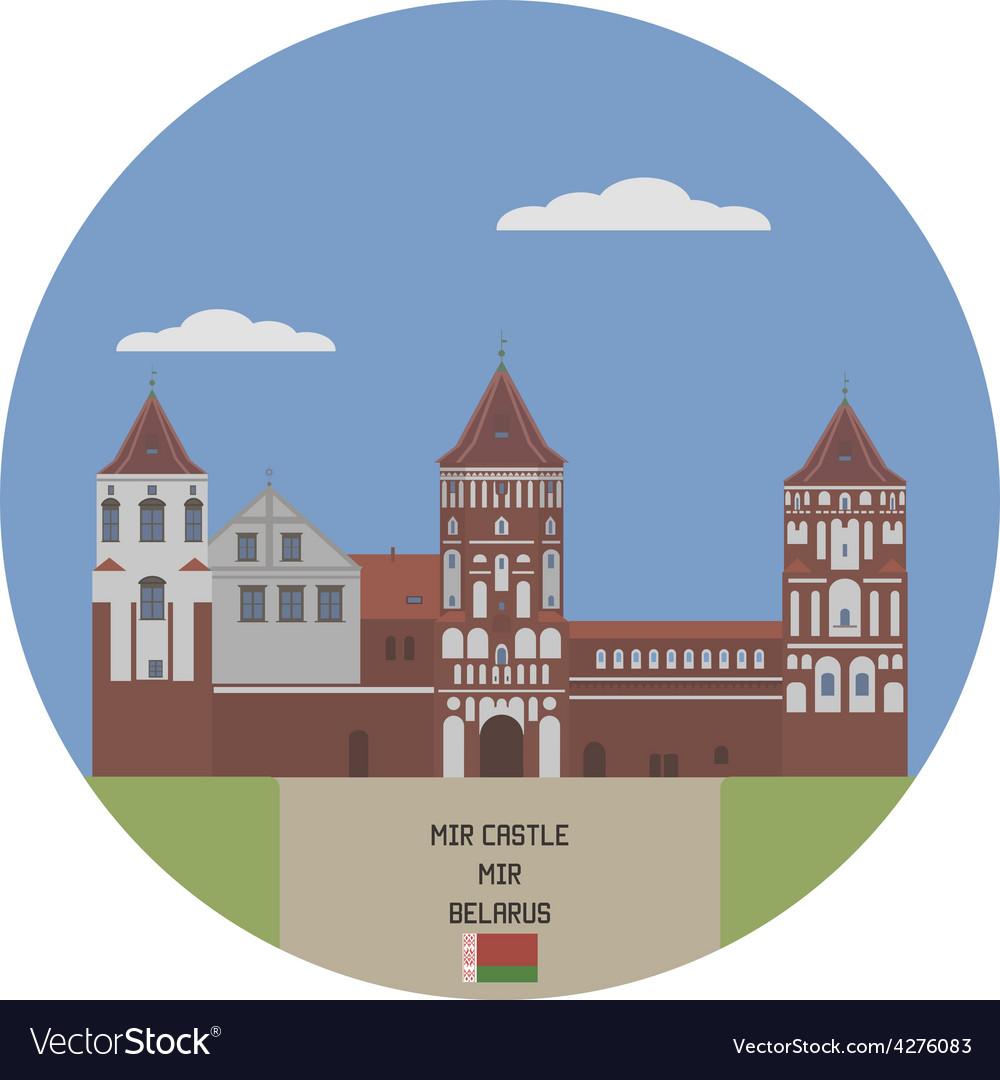 Mir castle vector   Price: 1 Credit (USD $1)