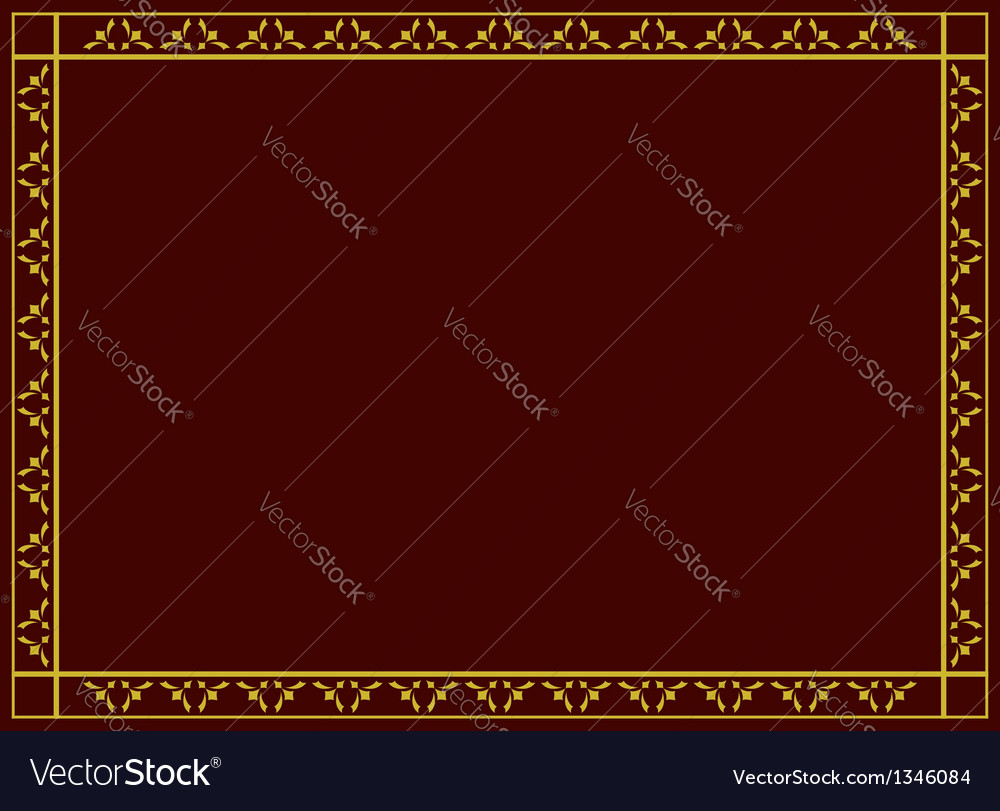 Decorative frame with geometric tracery vector | Price: 1 Credit (USD $1)