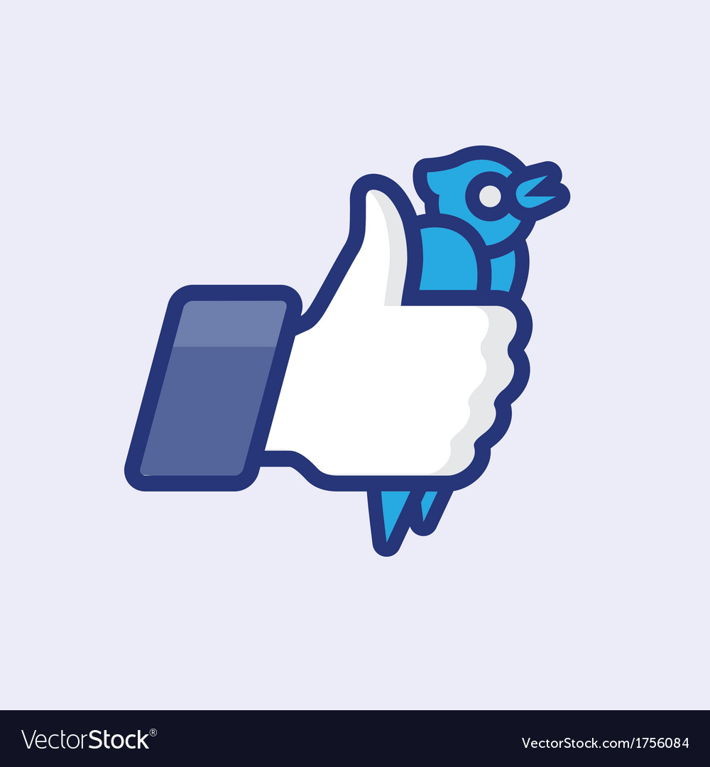 Likethumbs up symbol icon vector | Price: 1 Credit (USD $1)