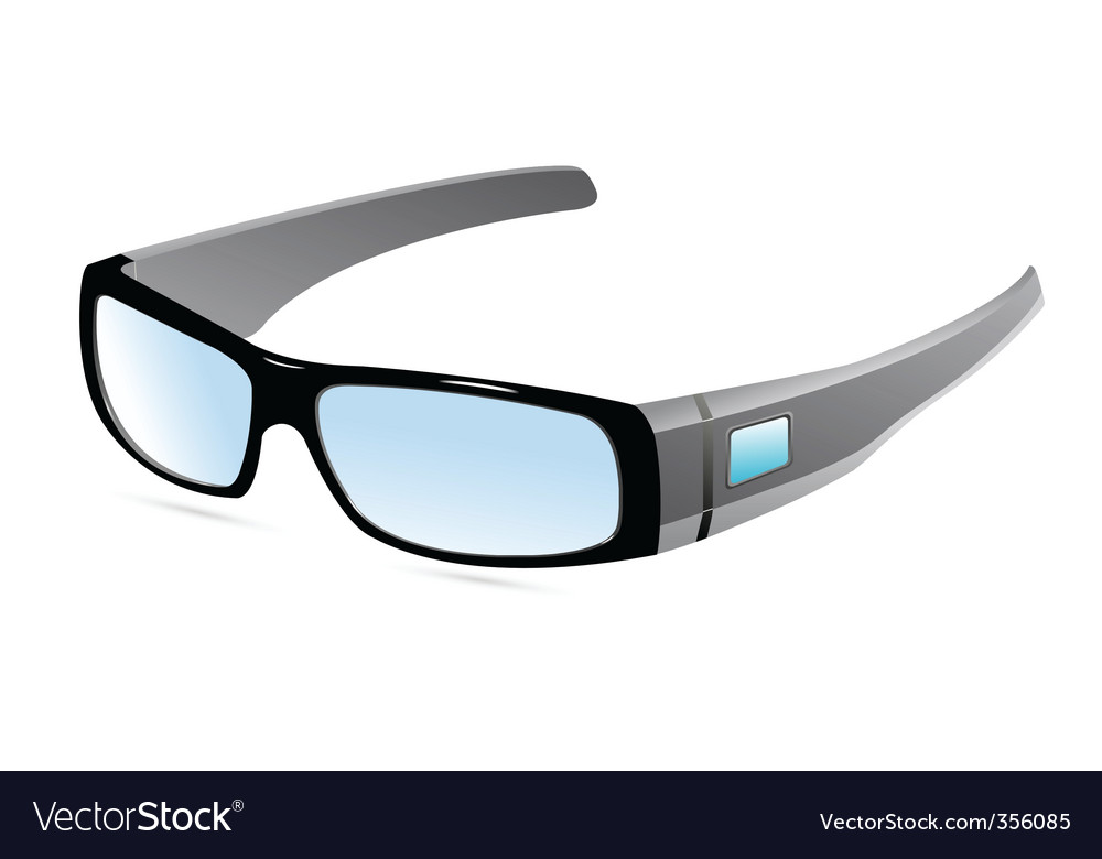 Eye wear vector | Price: 1 Credit (USD $1)