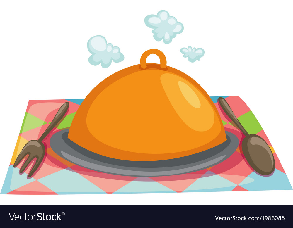 Isolated cloche restaurant vector | Price: 1 Credit (USD $1)