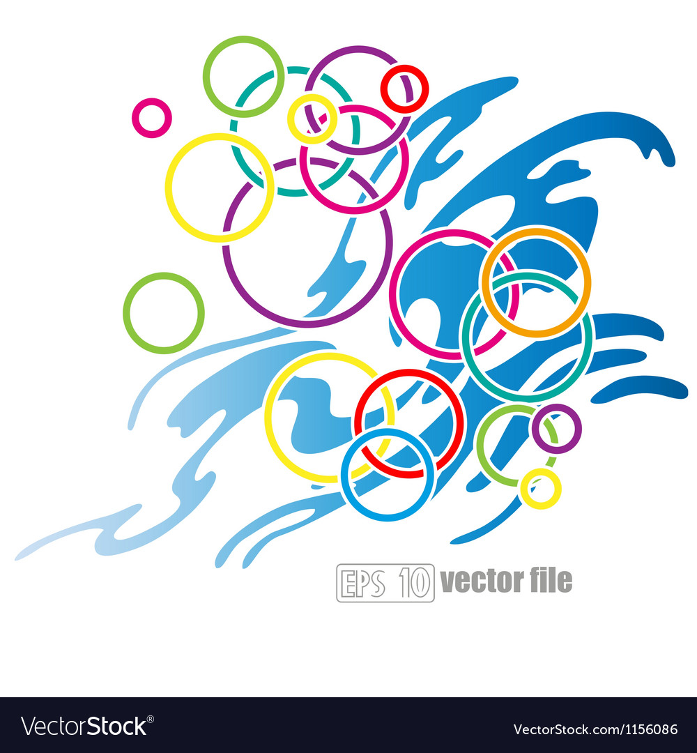 Abstract circle background vector   Price: 1 Credit (USD $1)