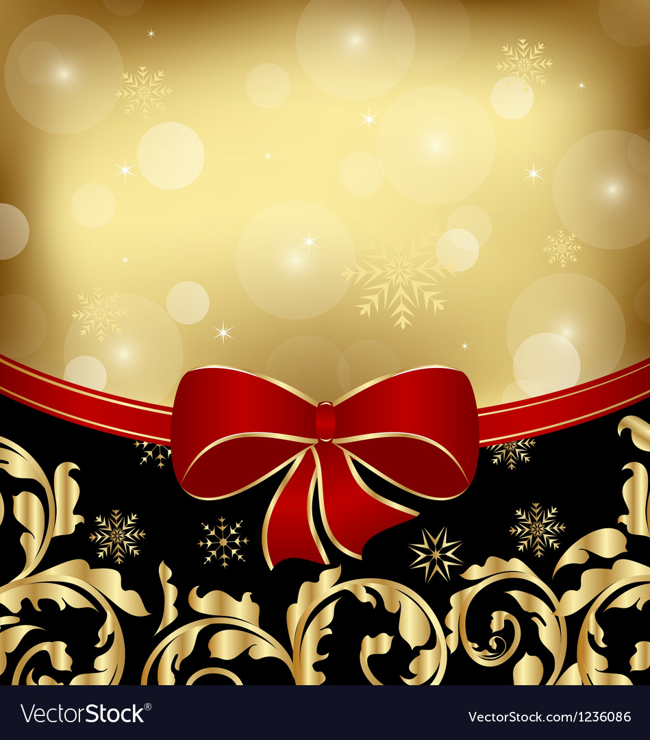 Christmas holiday ornamental decoration for design vector | Price: 1 Credit (USD $1)