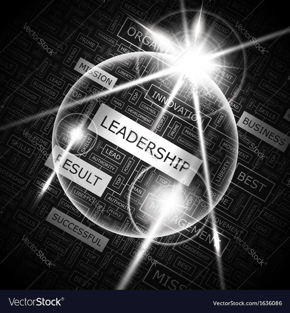 Leadership vector | Price: 1 Credit (USD $1)