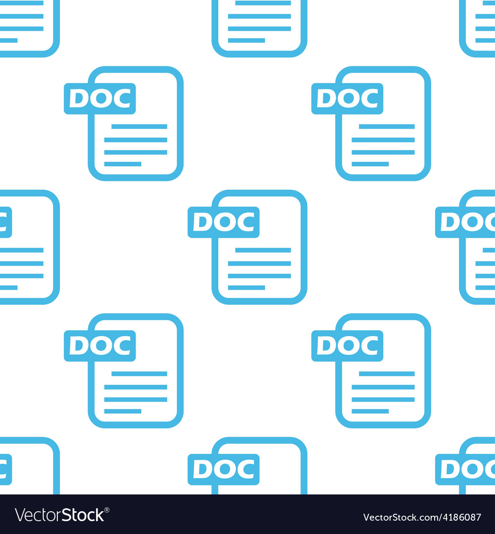 Doc seamless pattern vector   Price: 1 Credit (USD $1)