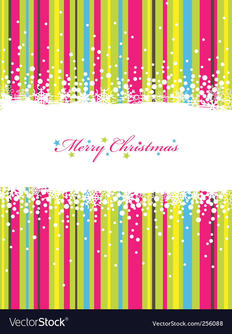 Christmas stripes vector | Price: 1 Credit (USD $1)
