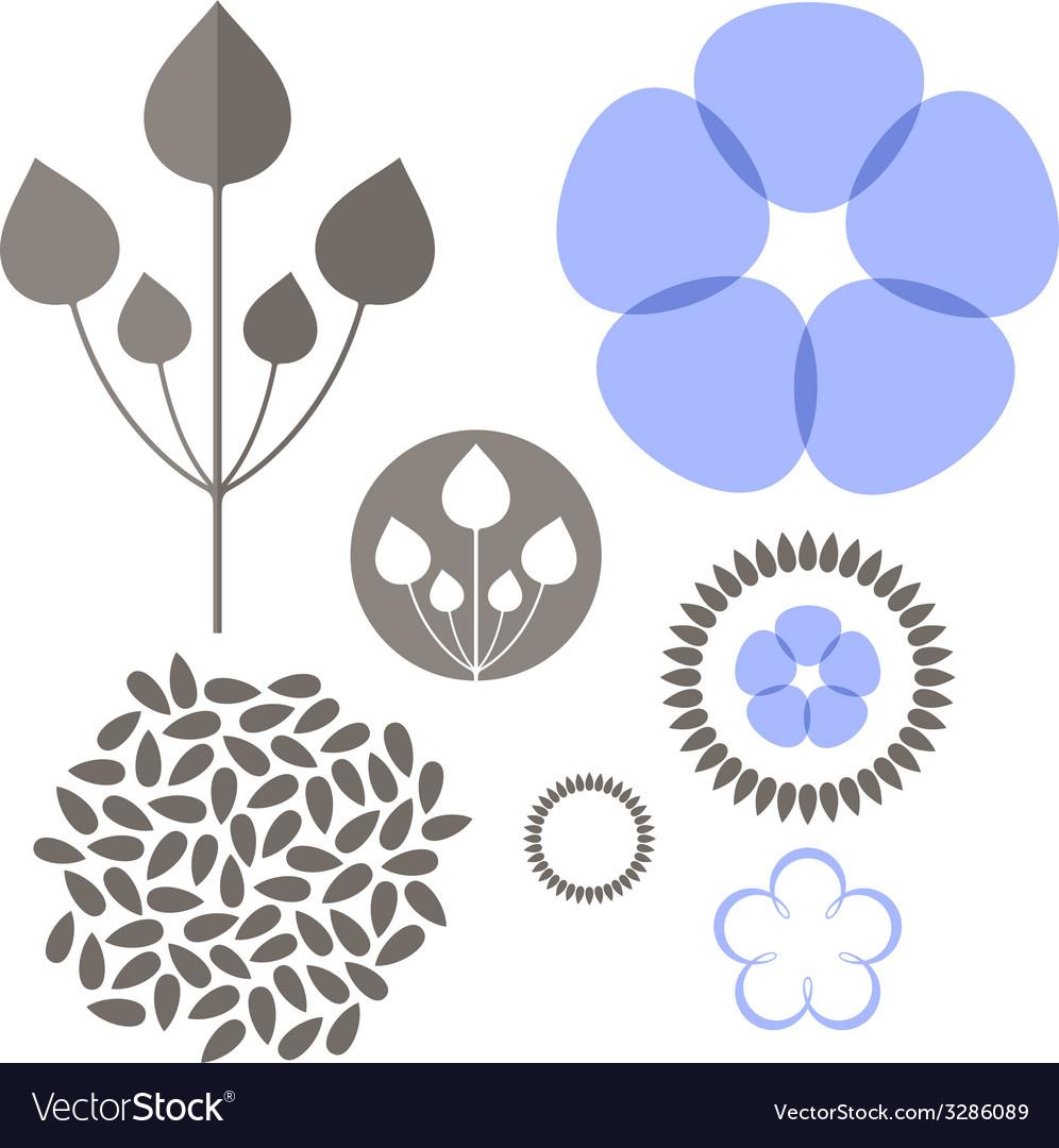 Flax set vector   Price: 1 Credit (USD $1)
