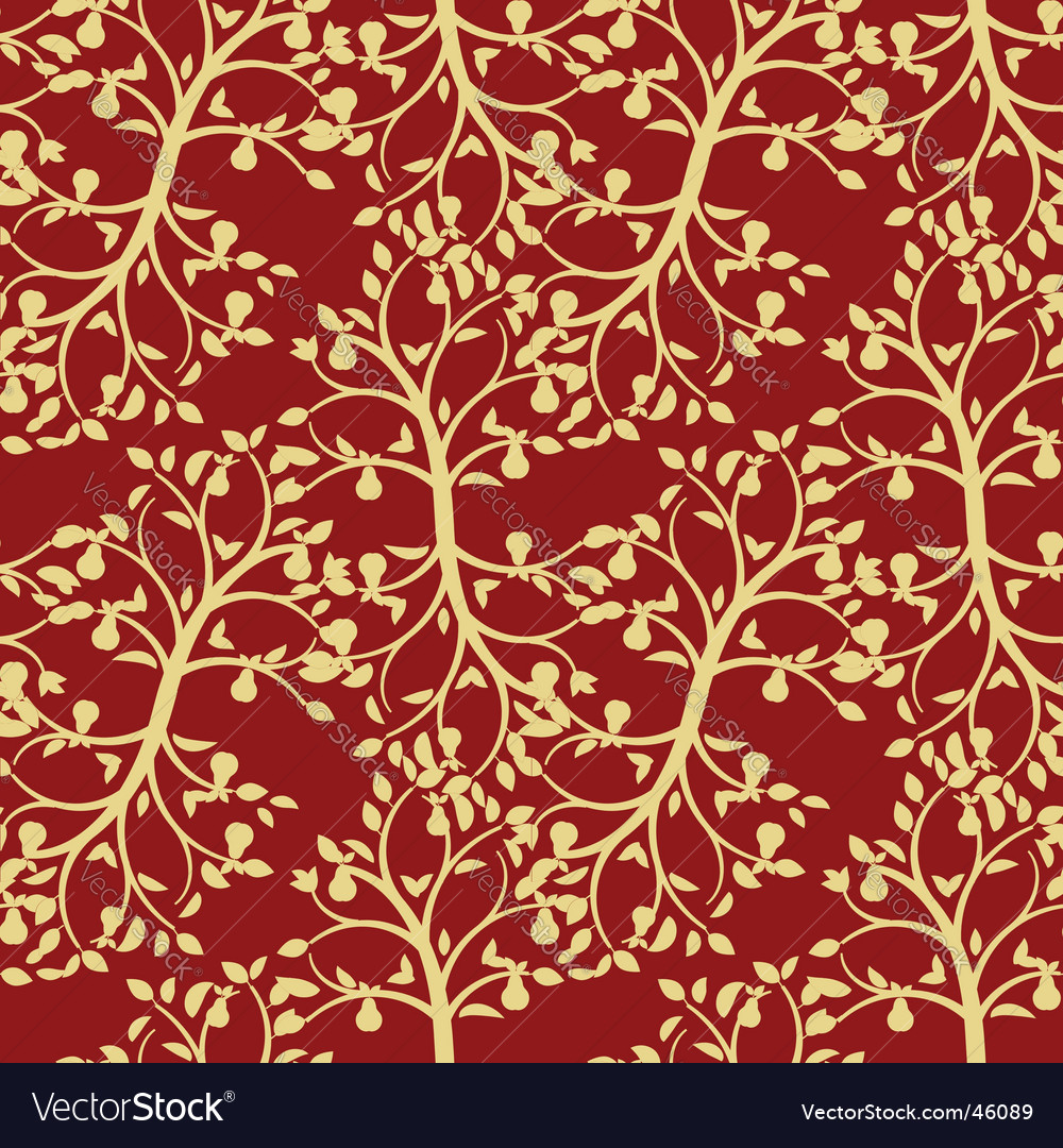 Foliage seamless background vector | Price: 1 Credit (USD $1)
