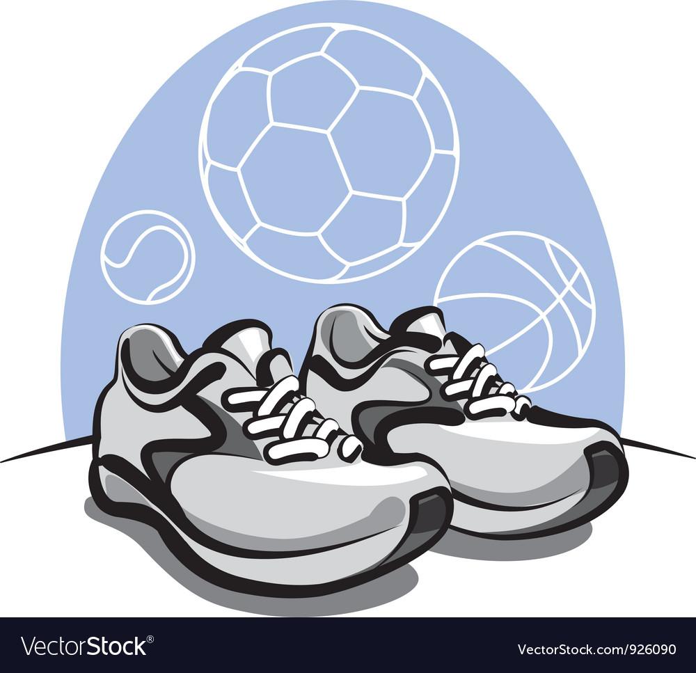 Sport sneakers vector | Price: 1 Credit (USD $1)