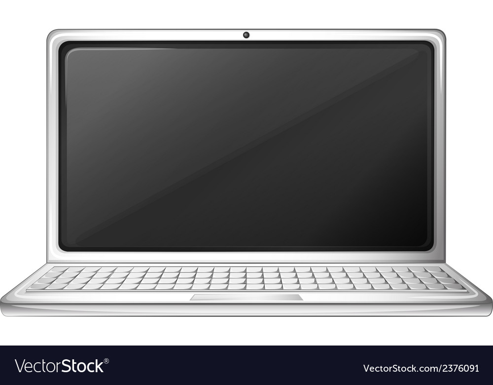 A notebook computer vector | Price: 1 Credit (USD $1)