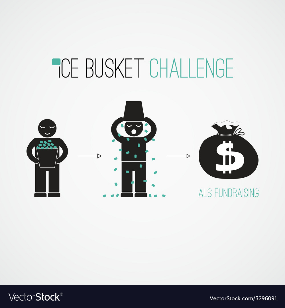 Als challenge concept vector | Price: 1 Credit (USD $1)