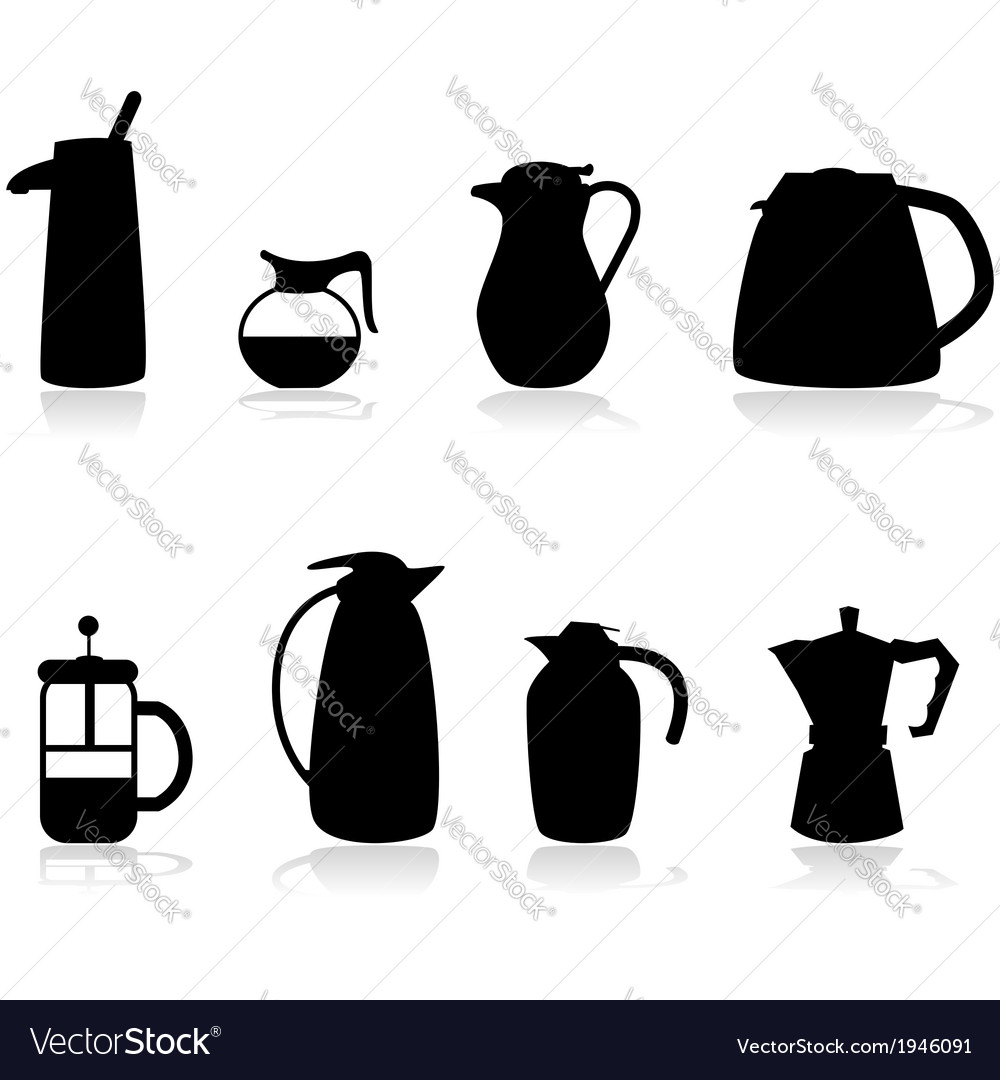 Coffee containers vector | Price: 1 Credit (USD $1)