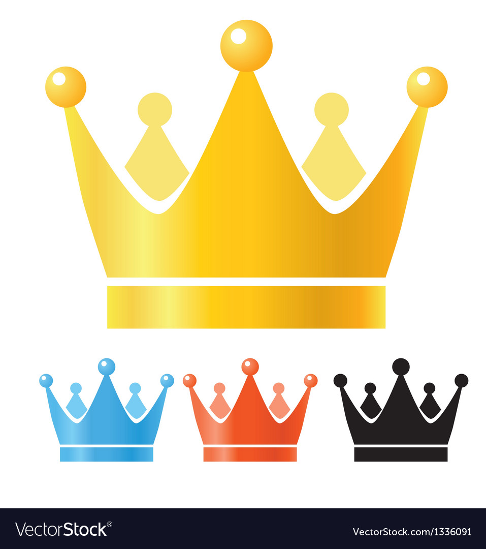 Crowns set vector | Price: 1 Credit (USD $1)
