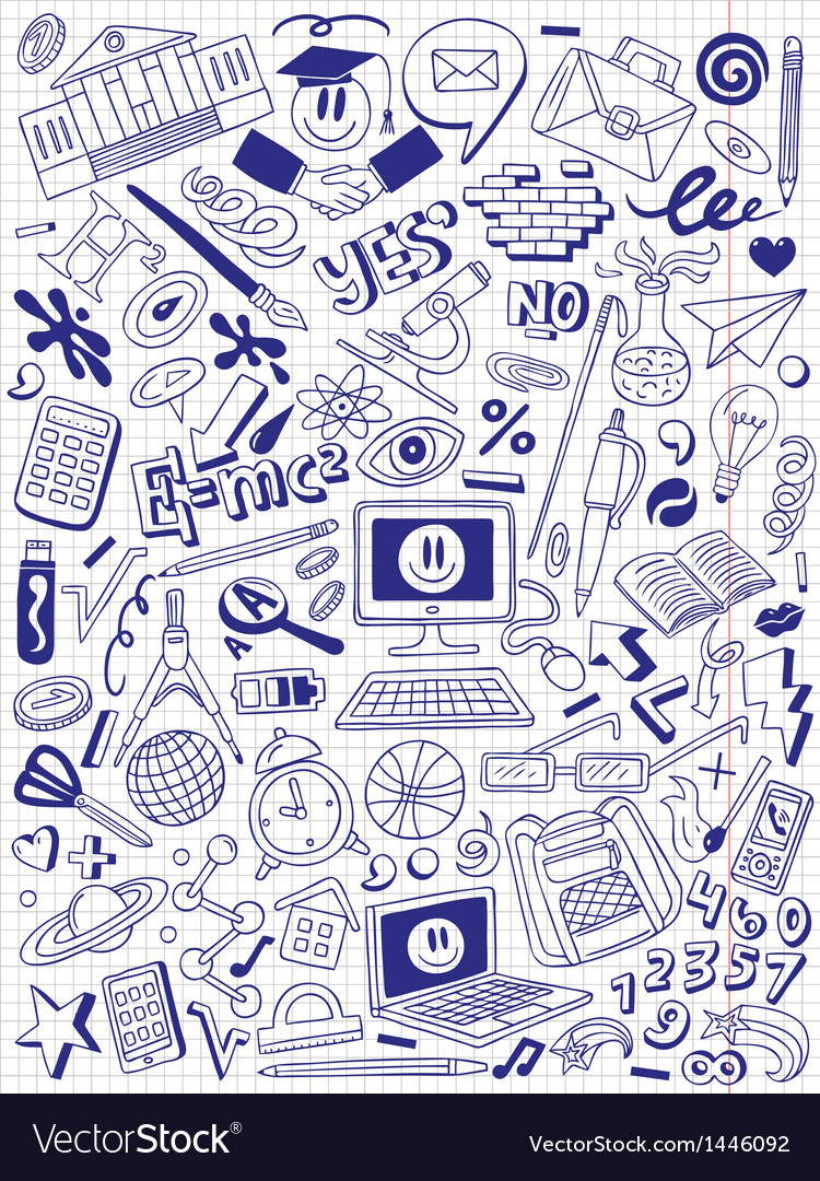 Education - doodles collection vector   Price: 1 Credit (USD $1)