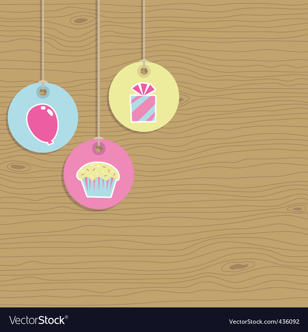 Party tags vector | Price: 1 Credit (USD $1)