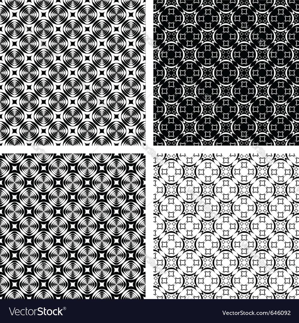 Seamless geometric modern vector | Price: 1 Credit (USD $1)