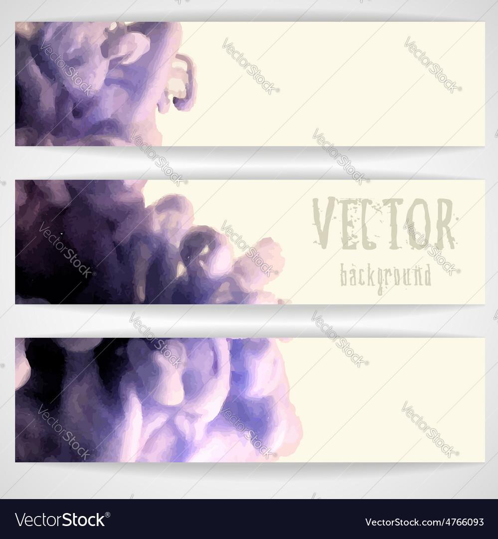 Cloud of ink in water vector | Price: 1 Credit (USD $1)