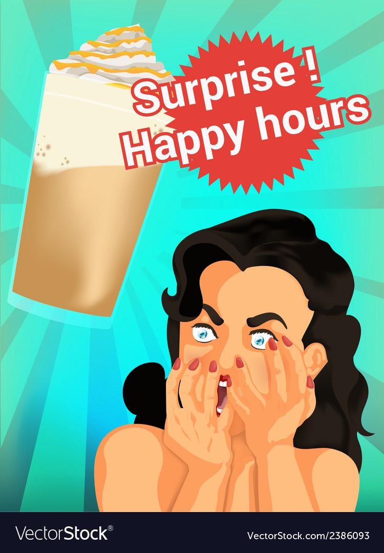 Coffee splash vector | Price: 1 Credit (USD $1)