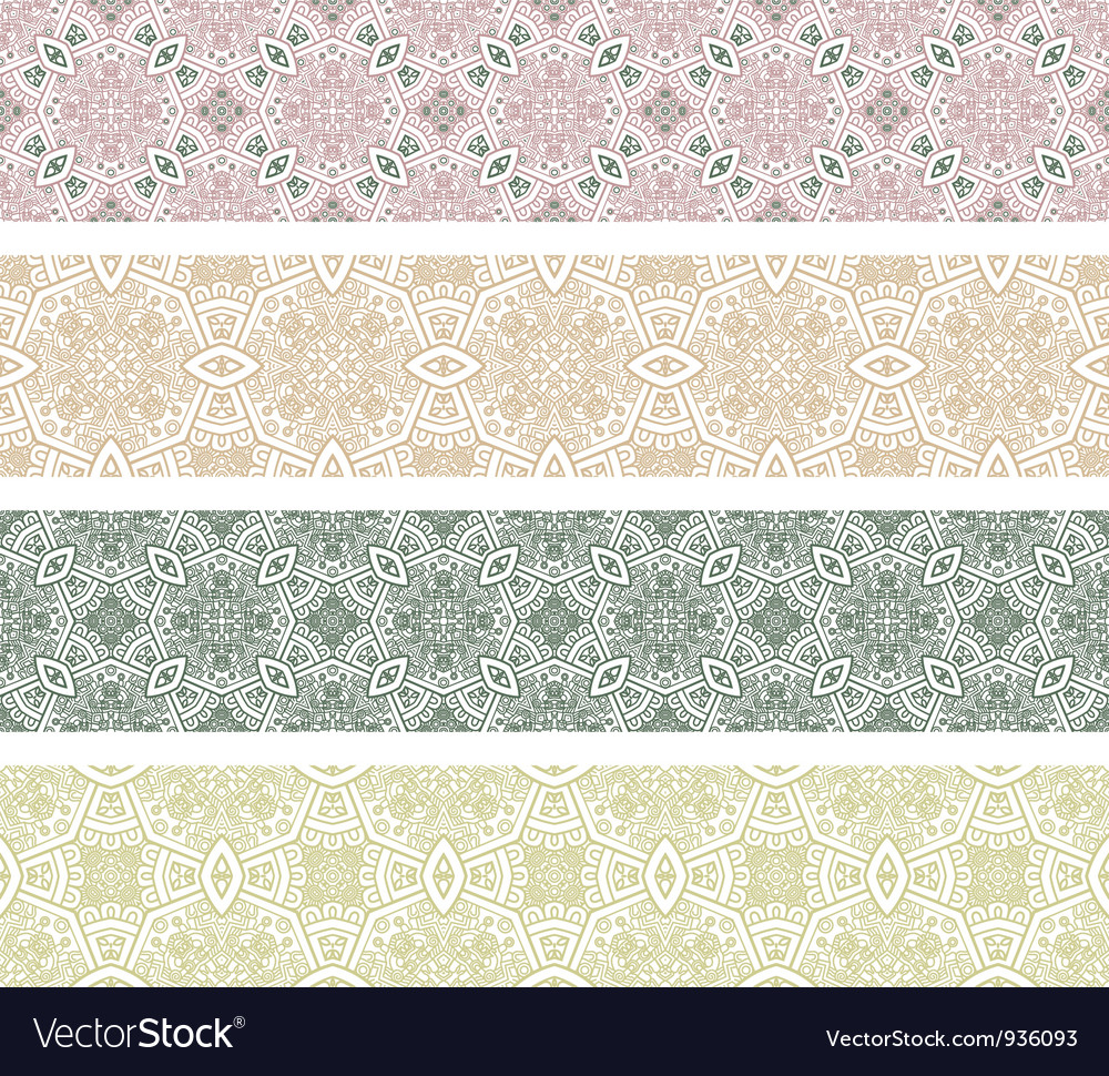 Ornamental seamless pattern vector | Price: 1 Credit (USD $1)