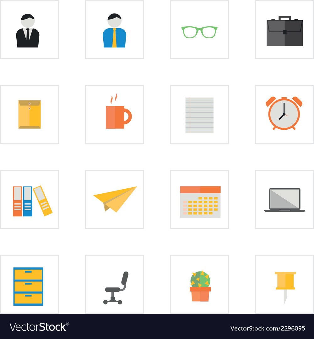 Icon officeman vector | Price: 1 Credit (USD $1)