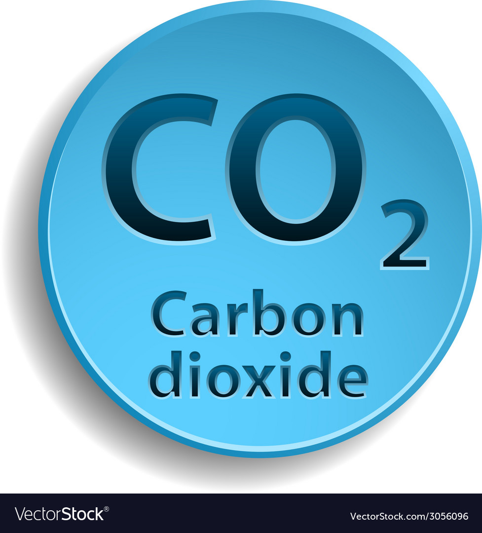 Carbon dioxide vector | Price: 1 Credit (USD $1)