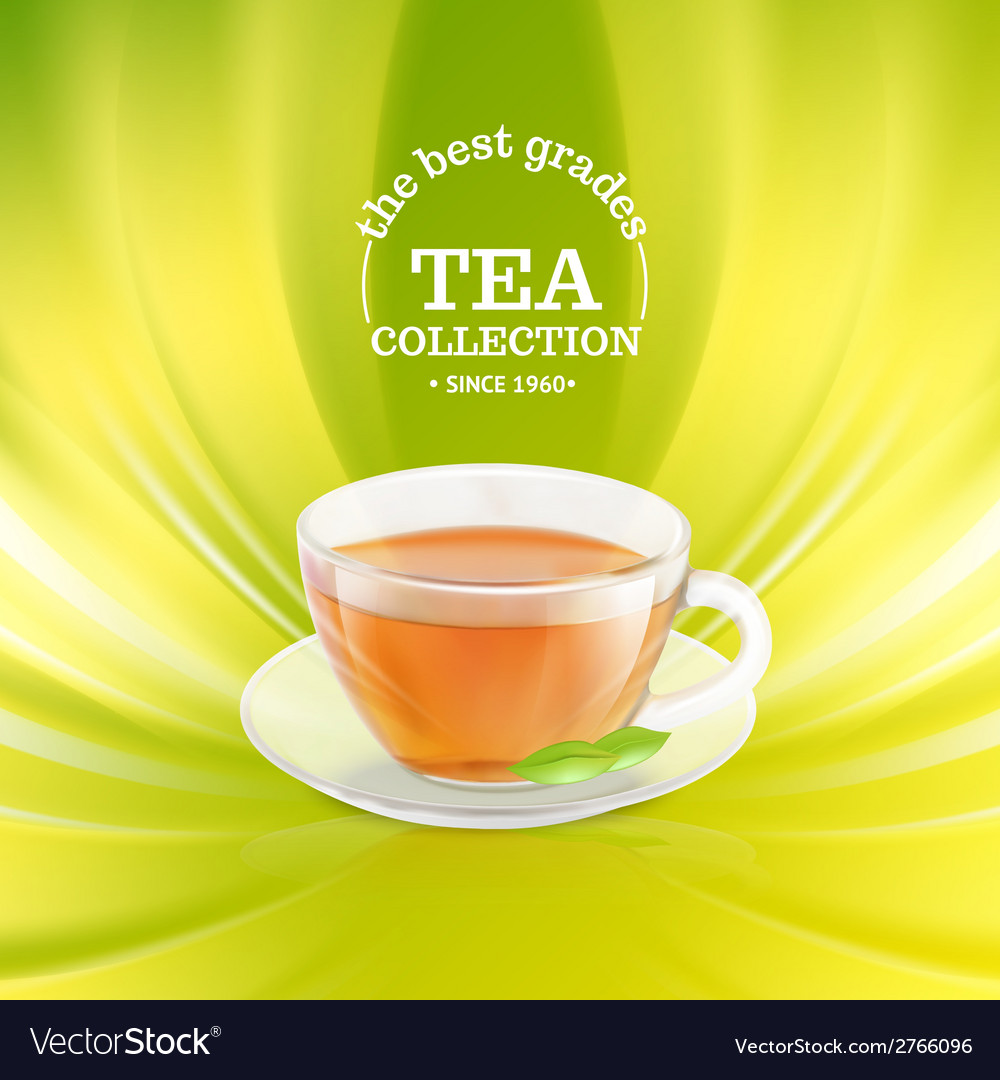 Tea cup vector | Price: 1 Credit (USD $1)