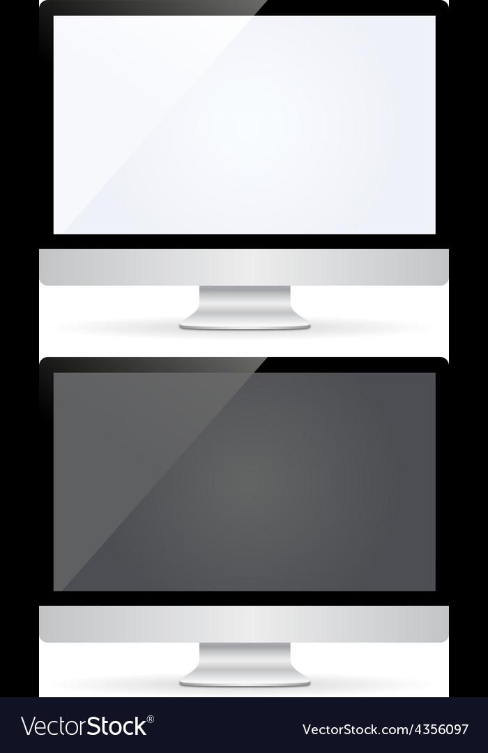 Computer monitor vector | Price: 1 Credit (USD $1)