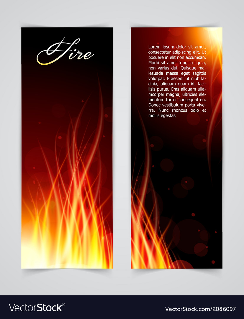 Fire glow background vector | Price: 1 Credit (USD $1)
