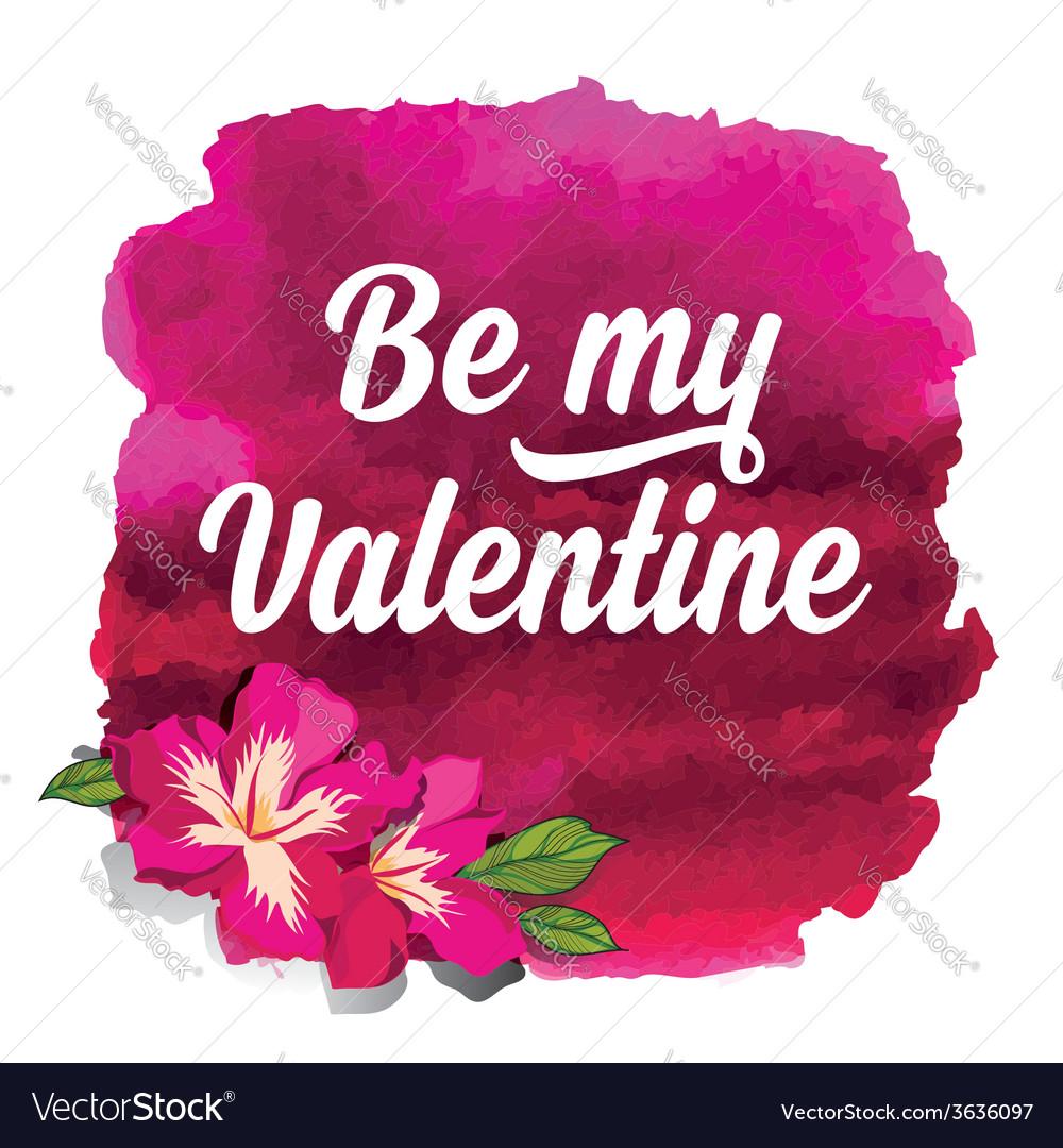 Valentines day postertypography love quote vector   Price: 1 Credit (USD $1)