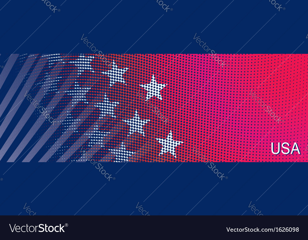 Bright stylized background usa patriotic design vector | Price: 1 Credit (USD $1)