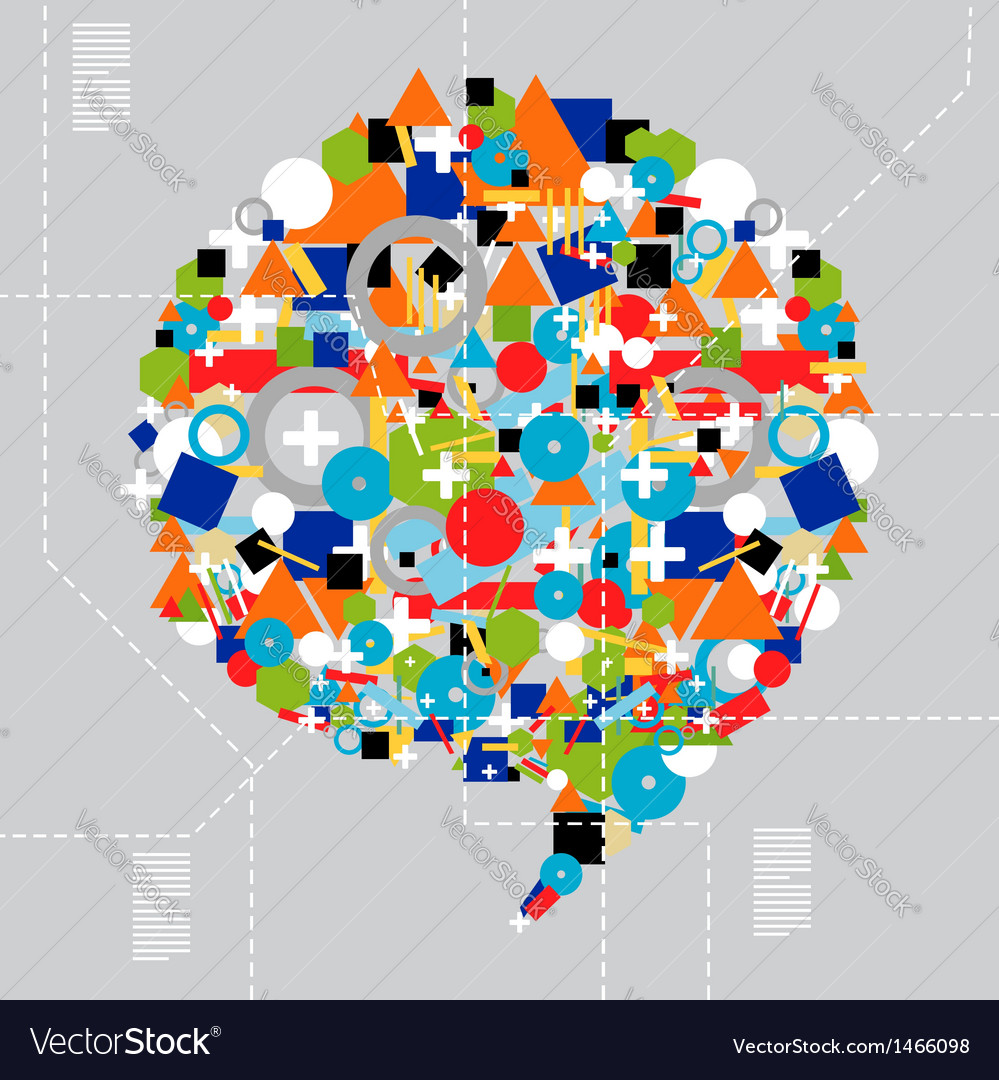 Social media diversity in technology vector | Price: 1 Credit (USD $1)