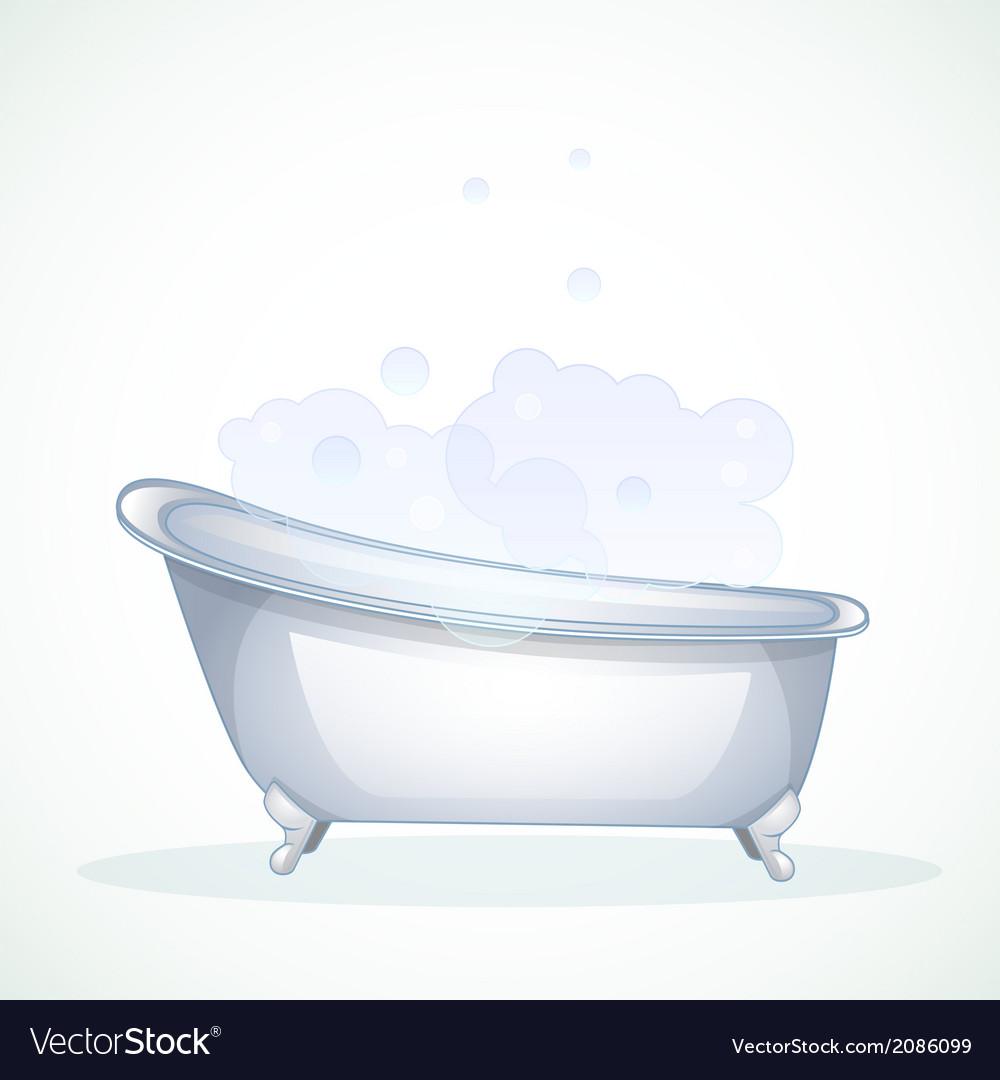 Blue bathroom vector | Price: 1 Credit (USD $1)