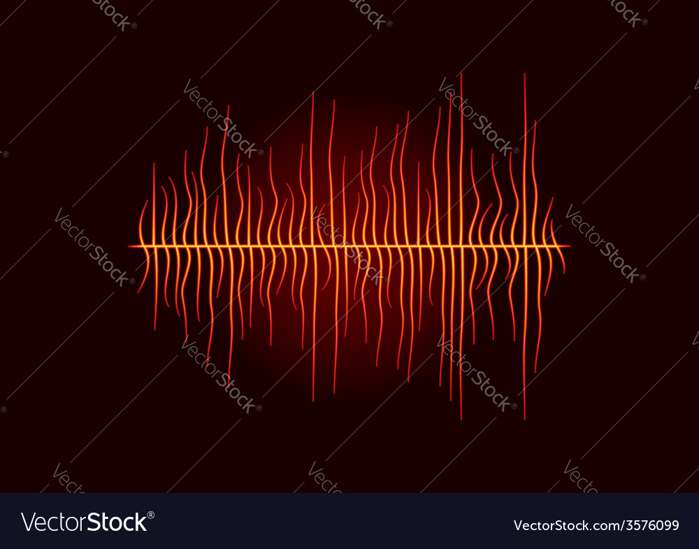 Hot melted waveform vector | Price: 1 Credit (USD $1)