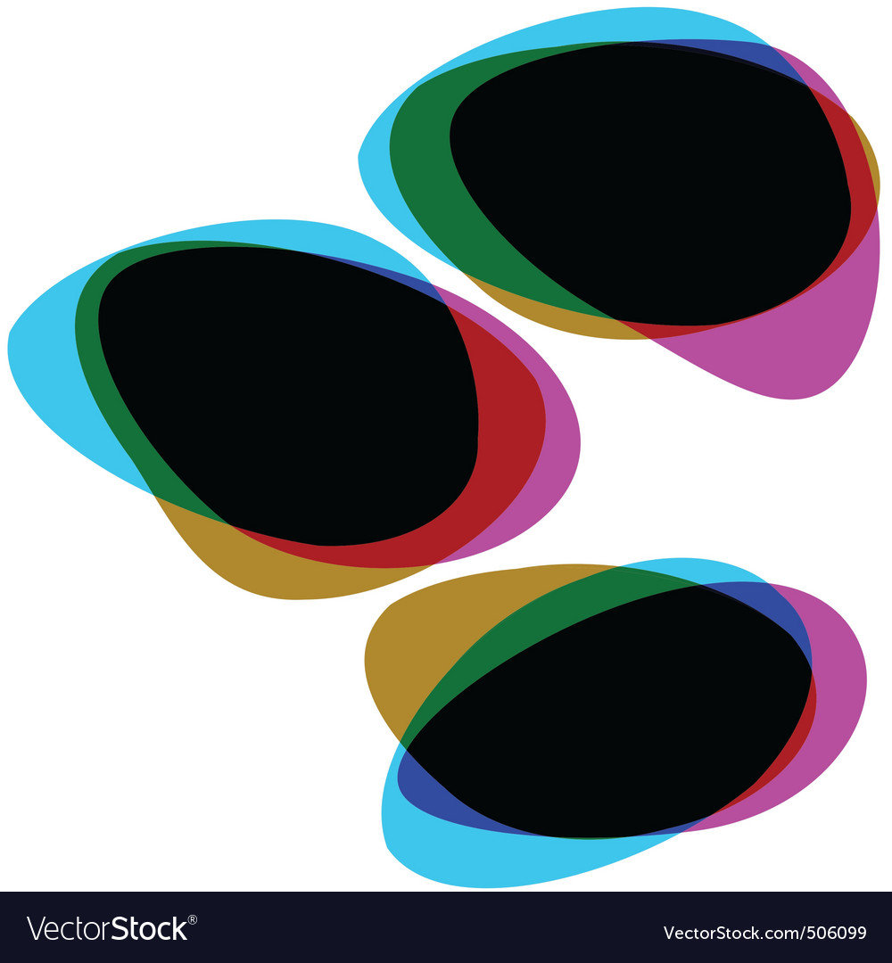 Interactive multicolored bubbles eps 8 vector | Price: 1 Credit (USD $1)
