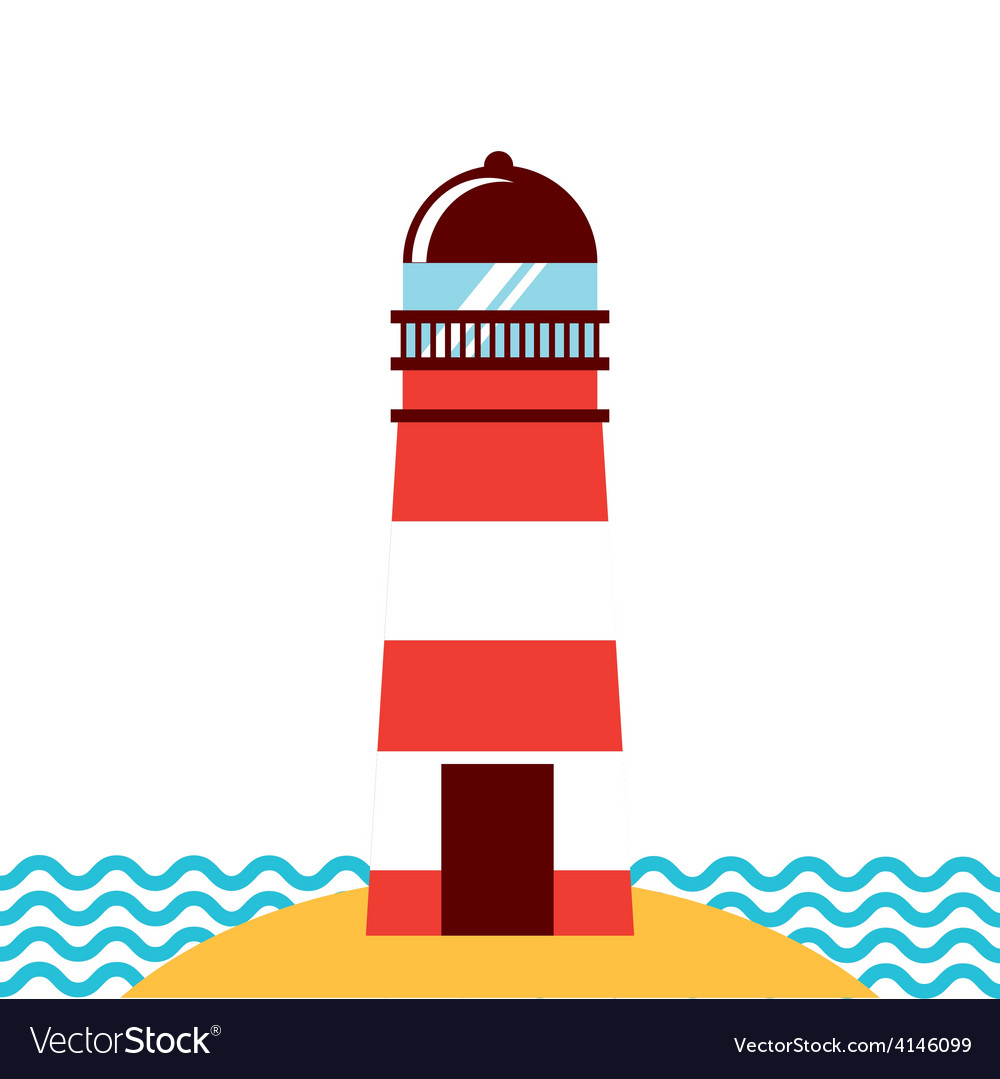 Lighthouse icon vector | Price: 1 Credit (USD $1)